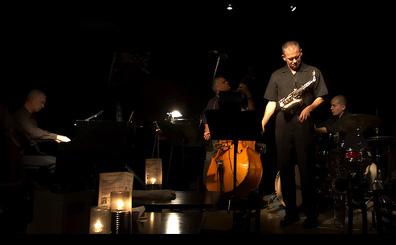 Altered Laws Jazz Quartet on stage